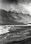 The Wakhan corridor seperates Afghanistan and Tajikistan and was once part of the Silk Road.