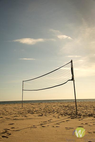 Madison Beach Club. Volleyball Net.