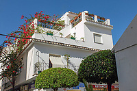 Roof garden, house, San Pedro de Alcantara, Marbella, Malaga, Andalucia, Espana, Spain, October, 2018, 201810072415<br /><br />Copyright Image from Victor Patterson, 54 Dorchester Park, Belfast, UK, BT9 6RJ<br /><br />t1: +44 28 9066 1296 (from Rep of Ireland 048 9066 1296)<br />t2: +44 28 9002 2446 (from Rep of Ireland 048 9002 2446)<br />m: +44 7802 353836<br /><br />e: victorpattersonbelfast@gmail.com<br /><br />The use of any of my copyright images is subject to my Terms &amp; Conditions. It is IMPORTANT that you familiarise yourself with them. They are available at my website, victorpatterson.com.<br /><br />None of my copyright images may be used on the Internet unless they are visibly watermarked, i.e. &copy; Victor Patterson within the body of the image. My metadata, denoting my copyright must NOT be deleted. <br /><br />Web use is extra at currently recommended NUJ rates. Maximum permitted web size is<br /> 400kb. <br /><br />Images must not be passed on to a third party - they are for the use of the authorised recipient only.