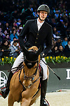 competes at the Hong Kong Jockey Club Trophy during the Longines Masters of Hong Kong at AsiaWorld-Expo on 09 February 2018, in Hong Kong, Hong Kong. Photo by Diego Gonzalez / Power Sport Images