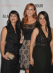 LOS ANGELES, CA - OCTOBER 24: Jana Banin, Jan Livingston-Mokhtari and Suzanne Reese attend the Glamour Reel Moments at DGA Theater on October 24, 2011 in Los Angeles, California.