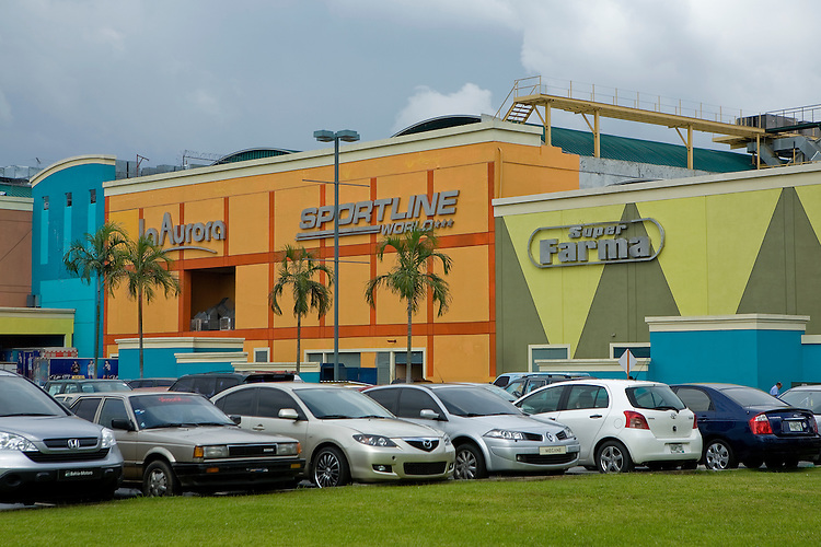The brand new Albrook Mall, next to the Aeropuerto Marcos A Gelabert, Panama City, Panama