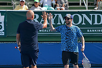 DELRAY BEACH, FL - NOVEMBER 05: Jared McGraw participates in the 28th Annual Chris Evert/Raymond James Pro-Celebrity Tennis Classic at Delray Beach Tennis Center on November 5, 2017 in Delray Beach, Florida<br /> CAP/MPI122<br /> &copy;MPI122/Capital Pictures