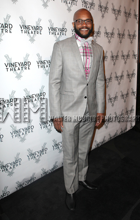 Forrest McClendon attending the Vineyard Theatre's 30th Anniversary Gala Celebration Cocktail Reception at the Edison Ballroom in New York City on 3/18/2013