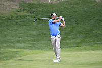 Maximilian Kieffer (GER) on the 10th fairway during Round 3 of the Open de Espana 2018 at Centro Nacional de Golf on Saturday 14th April 2018.<br /> Picture:  Thos Caffrey / www.golffile.ie<br /> <br /> All photo usage must carry mandatory copyright credit (&copy; Golffile | Thos Caffrey)