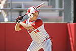 MADISON, WI - APRIL 16: Theresa Boruta #14 of the Wisconsin Badgers softball team bats against the Indiana Hoosiers at Goodman Diamond on April 16, 2007 in Madison, Wisconsin. (Photo by David Stluka)