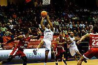 GRONINGEN - Basketbal, Donar - Benfica, voorronde Chamions League, seizoen 2019-2020, 20-09-2019, Donar speler Leon Williams