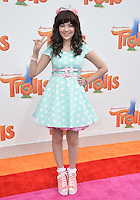 LOS ANGELES, CA. October 23, 2016: Actress Merit Leighton at the Los Angeles premiere of &quot;Trolls&quot; at the Regency Village Theatre, Westwood.<br /> Picture: Paul Smith/Featureflash/SilverHub 0208 004 5359/ 07711 972644 Editors@silverhubmedia.com