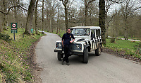 BNPS.co.uk (01202 558833)<br /> Pic: CalebHall/Longleat/BNPS<br /> <br /> Photographer Caleb Hall at Longleat Safari Park. <br /> <br /> Longleat Safari Park has been showing the public what they've been missing during the lockdown by releasing a candid collection of pictures of their famous collection of big cats.<br /> <br /> The Wiltshire park is currently closed to the public due to COVID-19 but has been giving animal lovers an insight into the animals.<br /> <br /> They have snapped the iconic lions in a number of spots around their enclosure as well as a series of photographs of their tigers.