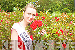 ROSE: London Rose, Charmaine Kenny relaxes in Tralee Town Park on the morning after her selection as the 2009 Rose of Tralee.