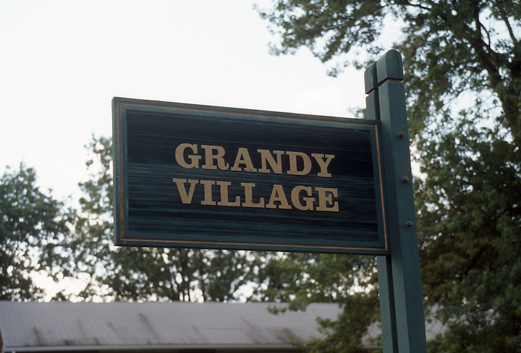 1997 August 07..Assisted Housing..Grandy Village..Entrance sign.CAPTION...NEG#.NRHA#..