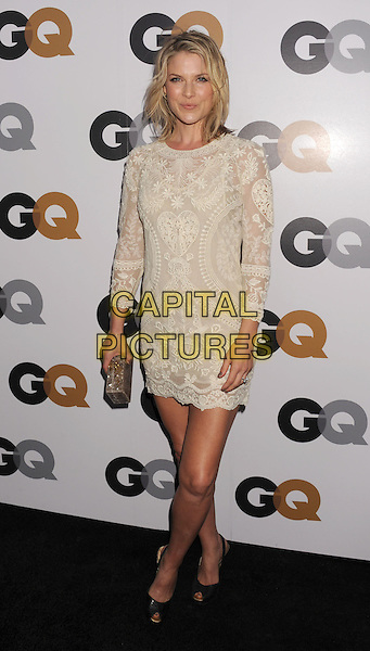 Ali Larter.Arriving at the GQ Men Of The Year Party at Chateau Marmont Hotel in Los Angeles, California, USA..November 13th, 2012.full length white lace dress.CAP/ROT/TM.©Tony Michaels/Roth Stock/Capital Pictures