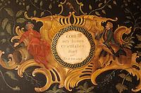 Europe/France/Aquitaine/33/Gironde/Saint-Laurent-Médoc: Le Château Camensac (AOC Haut-Médoc) - Détai panneau de la compagnie des Indes trouvé sur le port de Bordeaux