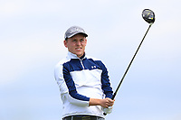 Hugh O'Hare (Fortwilliam) on the 10th tee during Round 4 of The East of Ireland Amateur Open Championship in Co. Louth Golf Club, Baltray on Monday 3rd June 2019.<br /> <br /> Picture:  Thos Caffrey / www.golffile.ie<br /> <br /> All photos usage must carry mandatory copyright credit (© Golffile | Thos Caffrey)