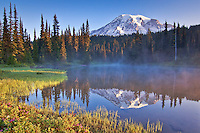 Sunrise at Reflection Lake, Mt. Rainier National Park