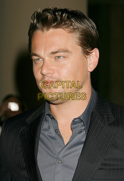 LEONARDO DiCAPRIO.79th Annual Academy Awards Nominees Luncheon held at the Beverly Hilton Hotel, Beverly Hills, California, USA..February 5th, 2007.headshot portrait Di Caprio stubble facial hair.CAP/ADM/RE.©Russ Elliot/AdMedia/Capital Pictures