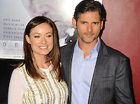 HOLLYWOOD, CA - NOVEMBER 29: Olivia Wilde and Eric Bana arrive at the 'Deadfall' Los Angeles premiere at ArcLight Hollywood on November 29, 2012 in Hollywood, California. PAP1112JP333.PAP1112JP333. /NortePhoto