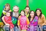 Fionn Daly, Seamus Morrissey. Mathona Morrissey, Maeve Leane, Catriona Morrissey, Siún Morrissey and Karen Daly Killarney having fun at the Teddy Bear picnic in Muckross House on Friday