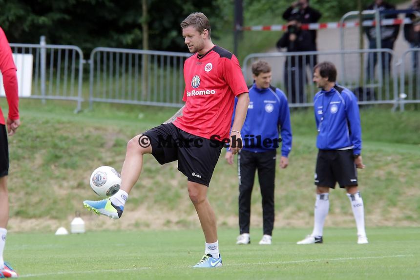 Marco Russ (Eintracht) - Eintracht Frankfurt Trainingsauftakt