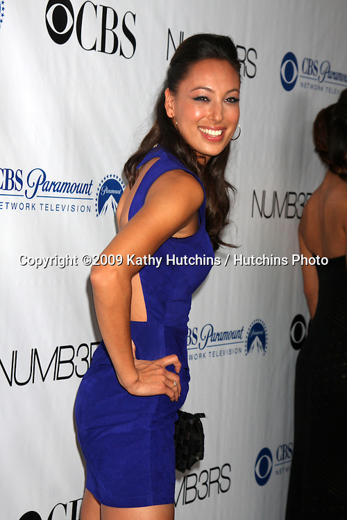 Aya Sumika arriving at the Numb3rs 100th Episode Party at the Sunset Tower Hotel in West Hollywood,  California on April 21, 2009.©2009 Kathy Hutchins / Hutchins Photo....                .