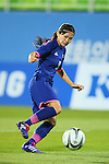 Nahomi Kawasumi (JPN), <br /> SEPTEMBER 18, 2014 - Football / Soccer : <br /> Women's Group Stage <br /> between Japan Women's 12-0 Jordan Women's <br /> at Namdong Asiad Rugby Field <br /> during the 2014 Incheon Asian Games in Incheon, South Korea. <br /> (Photo by YUTAKA/AFLO SPORT)
