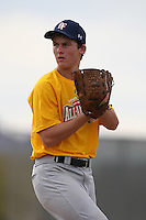January 16, 2010:  Jacob Bell (Ridgecrest, CA) of the Baseball Factory California Team during the 2010 Under Armour Pre-Season All-America Tournament at Kino Sports Complex in Tucson, AZ.  Photo By Mike Janes/Four Seam Images