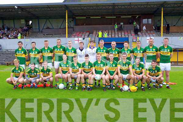 The Kerry team who played Clare in the Munster Junior Championship Semi Final in Cusack Park, Ennis on Sunday.