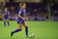 Orlando, FL - Tuesday August 08, 2017: Nickolette Driesse during a regular season National Women's Soccer League (NWSL) match between the Orlando Pride and the Chicago Red Stars at Orlando City Stadium.