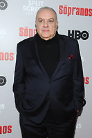 NEW YORK, NY - January 9: VIncent Curatola at HBO And Split Screens Festival The Sopranos 20th Anniversary panel discussion at the SVA Theatre in New York City on January 9, 2019. Credit: John Palmer/MediaPunch