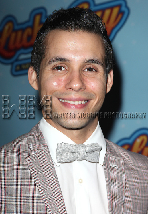 Xavier Cano.attending the Opening Night After Party for 'Lucky Guy' at Planet Hollywood in New York City.