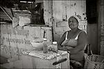 Santiago de Cuba:<br /> Street scenes, neighborhood vendor