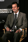 15 January 2010: University of North Carolina Tar Heels head coach Anson Dorrance. The 2010 WPS Draft was held at Pennsylvania Convention Center in Philadelphia, PA during the NSCAA Annual Convention.