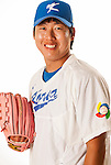 TAICHUNG, TAIWAN - FEBRUARY 27: Cha, WooChan of Team Korea poses during WBC Photo Day at the Douliu Baseball Stadium on February 27, 2013 in Douliu, Taiwan. Photo by Victor Fraile / The Power of Sport Images