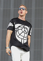 Diplo of MAJOR LAZER performs during The New Look Wireless Music Festival at Finsbury Park, London, England on Friday 03 July 2015. Photo by Andy Rowland.