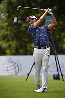 Shugo Imahira (JPN) watches his tee shot on 8 during round 3 of the WGC FedEx St. Jude Invitational, TPC Southwind, Memphis, Tennessee, USA. 7/27/2019.<br /> Picture Ken Murray / Golffile.ie<br /> <br /> All photo usage must carry mandatory copyright credit (© Golffile | Ken Murray)