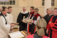 A Service of Evensong Together with the Conferral of Honorary Degrees. 20 October 2015. Berkeley Divinity School at Yale University.