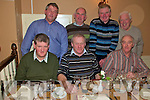 Males Night Out : Enjoying a men only night out at the Horseshoe Bar in Listowel on Friday night last are in front, Tony Stack,Jerry McCarthy & Ml. O'Connor. Back row; Gerard Donegan, Mossie Henchy, Timmy Carmody & Gabe O'Connor.