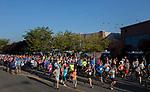 Runners start the 49th Annual Journal Jog in Reno, Nevada on Sunday, September 10, 2017.