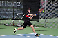 Tennis – CSW Junior Individual Champs at Renouf Tennis Centre, Wellington, New Zealand on Wednesday 20 November 2019. <br /> Photo by Masanori Udagawa / photowellington