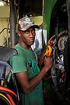 ANGOLA John Deere farming machines Distributor and service LonAgro an der Estrada de Catete