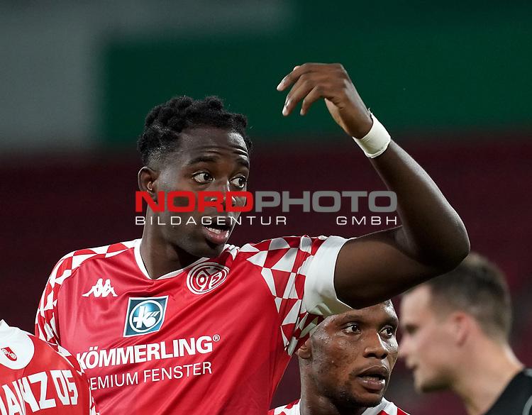 11.09.2020, Opel Arena, Mainz, GER, DFB-Pokal, 1. Runde TSV Havelse vs 1. FSV Mainz 05<br /> , im Bild<br />Jean-Philippe Mateta (FSV Mainz 05)<br /> <br /> Foto © nordphoto / Bratic