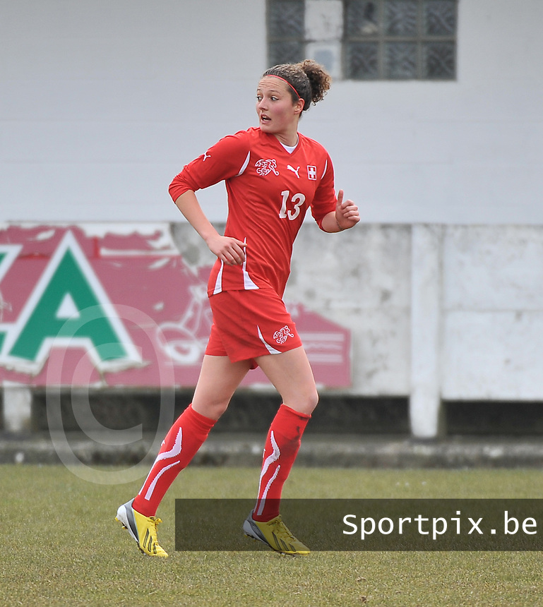 Switzerland U19 - Russia U19 : Sabrina Ribeaud.foto DAVID CATRY / Nikonpro.be