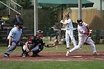 Mannheim 20.04.2008, Baseball 1. Bundesliga Tornados Mannheim - Heidenheim Heidek&ouml;pfe, Mannheims Ren&eacute; Franke beim Schlag<br /> <br /> Foto &copy; Rhein-Neckar-Picture *** Foto ist honorarpflichtig! *** Auf Anfrage in h&ouml;herer Qualit&auml;t/Aufl&ouml;sung. Belegexemplar erbeten.