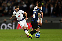 Matteo Politano of Internazionale and Harry Winks of Tottenham Hotspur during Tottenham Hotspur vs Inter Milan, UEFA Champions League Football at Wembley Stadium on 28th November 2018