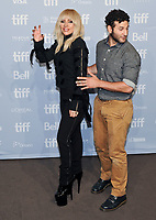 08 September 2017 - Toronto, Ontario Canada - Lady Gaga, Chris Moukarbel. 2017 Toronto International Film Festival - &quot;Lady Gaga: Five Foot Two&quot; Press Conference held at TIFF Bell Lightbox. <br /> CAP/ADM/BPC<br /> &copy;BPC/ADM/Capital Pictures