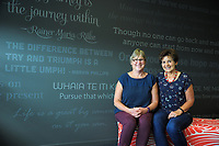 Linda Spence and Di Bailey. Compass Health Take Control Of Your Health photoshoot at Waiata House in Masterton, New Zealand on Tuesday, 28 March 2017. Photo: Dave Lintott / lintottphoto.co.nz