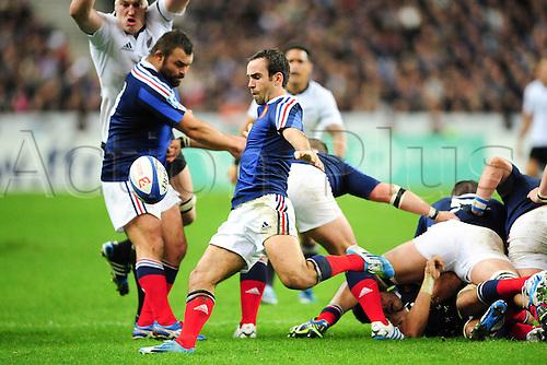 09.11.2013. Paris, France. International rugby union test match. France versus New Zealand. Morgan Parra (Fra)