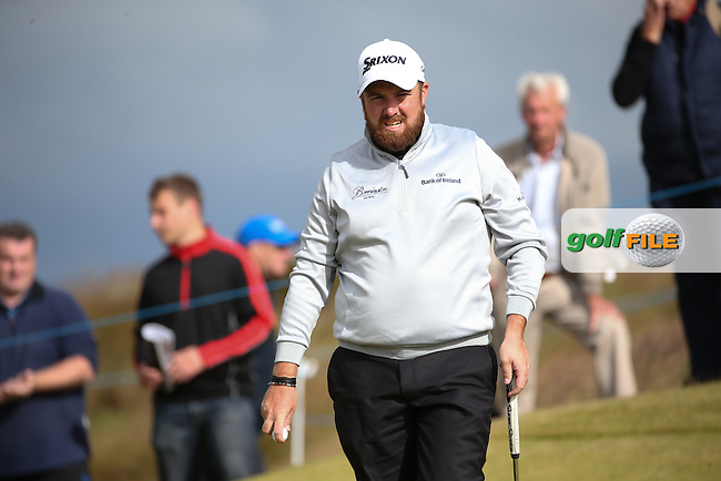 Shane Lowry (IRL) during Round Two of the 2016 Aberdeen Asset Management Scottish Open, played at Castle Stuart Golf Club, Inverness, Scotland. 08/07/2016. Picture: David Lloyd | Golffile.<br /> <br /> All photos usage must carry mandatory copyright credit (&copy; Golffile | David Lloyd)