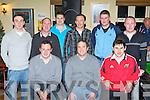 Having a ball at the Fossa GAA social in the Old Killarney Inn, Aghadoe on Friday night was front row l-r: Calum Myers, Tadgh Kelly, Michael O'Sullivan. Back row: Robert Foley, Shane Kelly, Micheál O'Neill, Mick O'Connell, Micheál McCarthy and Kevin Myers...
