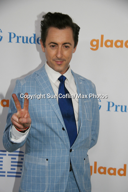 Alan Cumming - host for the evening of the 21st Annual GLAAD Media Awards on March 13, 2010 at the New York Marriott Marquis, New York City, NY. (Photo by Sue Coflin/Max Photos)